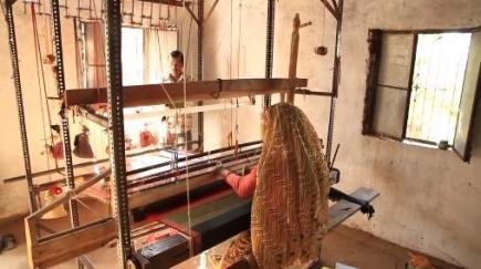 Rotary helpt wevers in Indië aan betere werkomstandigheden en betere verloning. (c)Rotary.org